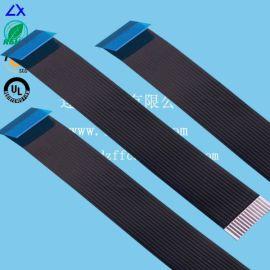 FFC工厂大量生产 黑色胶膜音响软排线