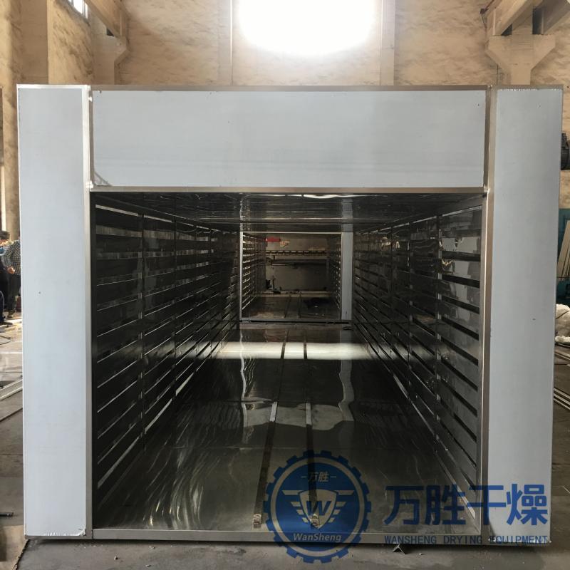 金丝**烘干机酵母生产热风循环烘箱环保烘干设备燃气炉配套烘箱