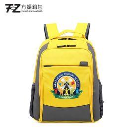小学新款书包定做1-3-6年级韩版减负护脊儿童书包LOGO定制背包