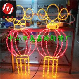 LED灯笼/生产厂家,路灯杆造型灯/挂件,1.5米,双面发光