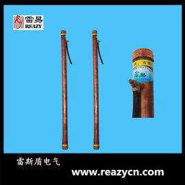 广州雷易RY-DL-4纯铜电解离子接地棒、接地极