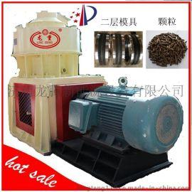 章丘龙腾 国家专利产品 木屑颗粒机高合金耐磨材质立式环模颗粒机