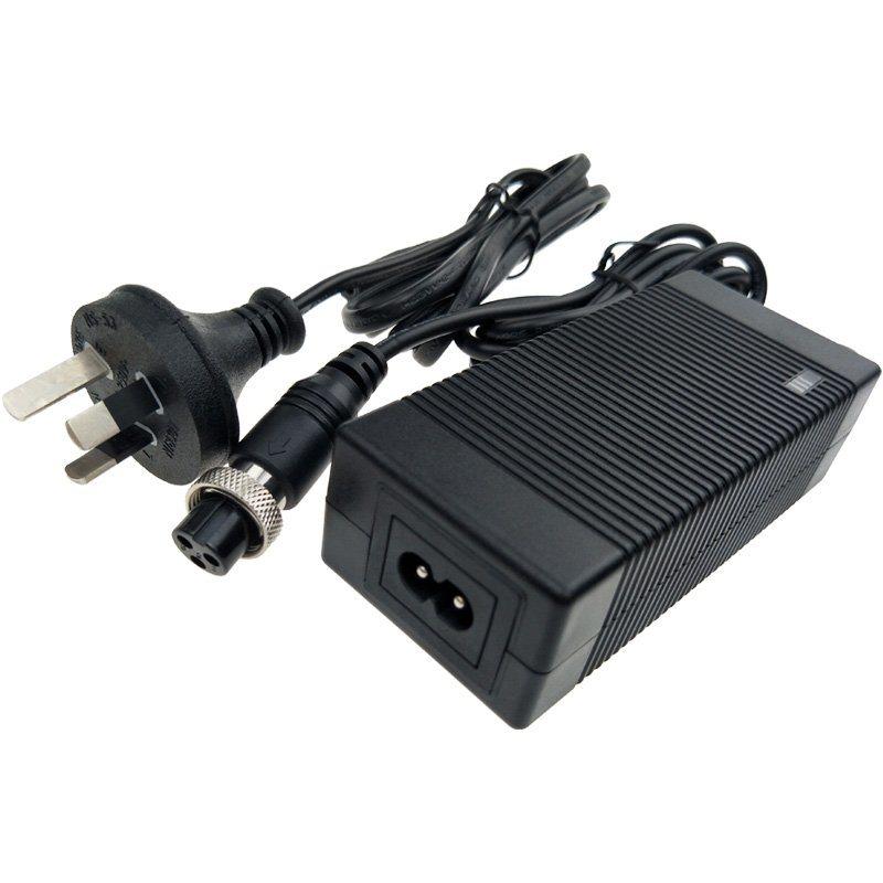 42V1.5A锂电池充电器 澳规SAA RCM认证42V1.5A扭扭车锂电池充电器
