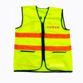 深圳厂家定制建筑物流公司户外工作人员安全反光背心马甲夜间防护反光衣