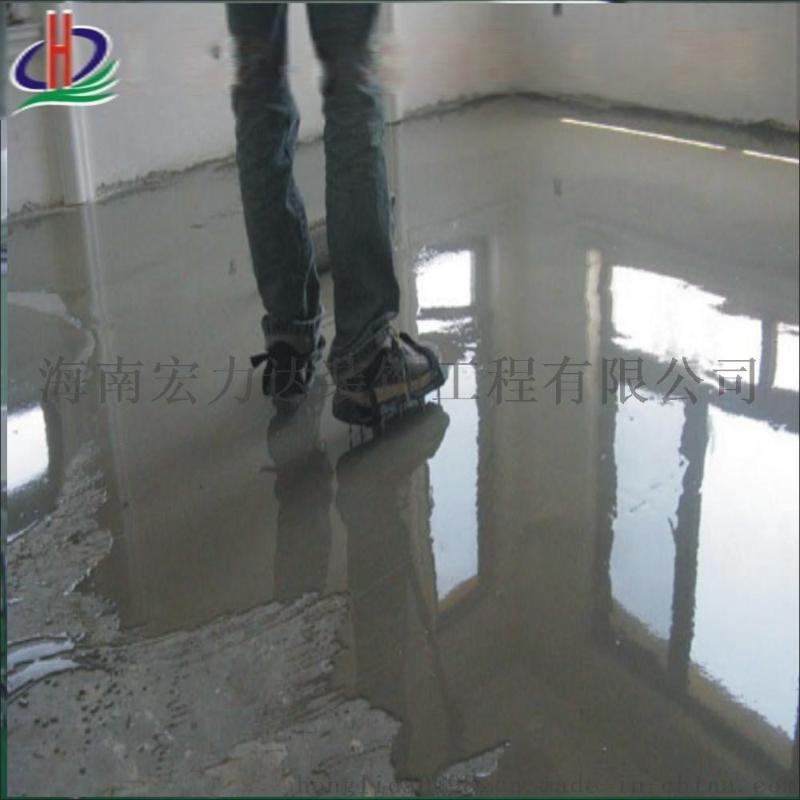 海南水磨石地板,石英石,精磨地坪工程