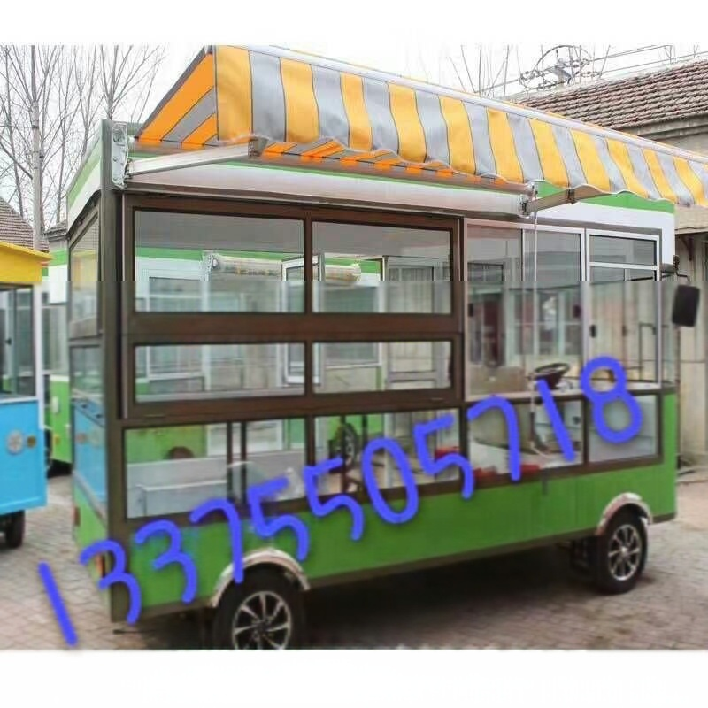 天縱TZCC-1不鏽鋼保溫移動美食快餐車