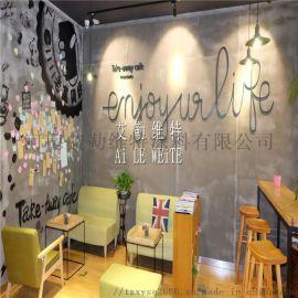 艺术墙面涂料 深圳艾勒维特水泥艺术漆施工