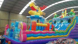 河北邯郸大型的充气滑梯产品生产厂家图片样式
