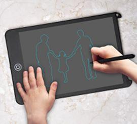 LCD液晶8.5寸鎖屏手寫板兒童繪畫寫字板