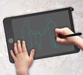 LCD液晶8.5寸锁屏手写板儿童绘画写字板