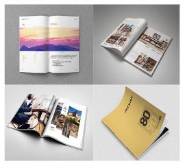 十堰源头厂家印刷宣传册 宣传画册设计 产品册定制