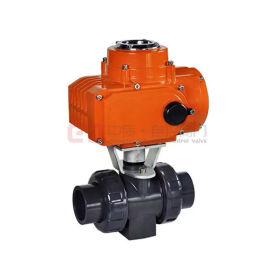 电动塑料球阀 SQ961F-10UPVC DN65