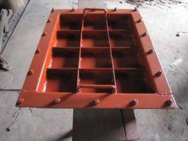 碳钢DN125人孔法兰人孔手轮厂家接受定制