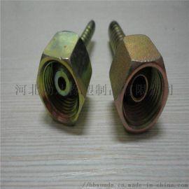 勋达定制加工不锈钢胶管接头