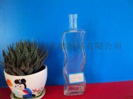玻璃厂家供应定做 玻璃花瓶批发 工艺瓶 玻璃瓶 玻璃罐