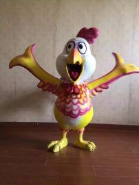 各種吉祥如意的生肖卡通雞模型出租