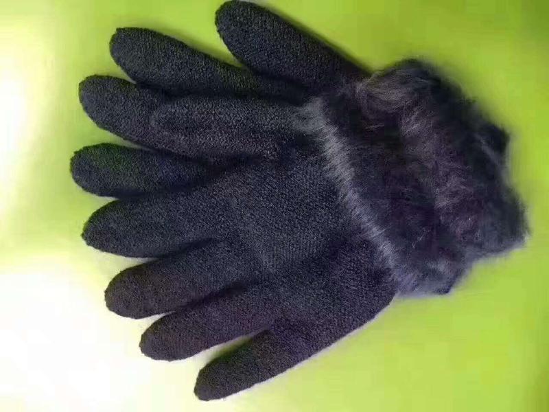 羊绒手套厂家 鄂尔多斯羊绒手套批发货源
