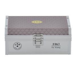 富祥F063多功能印章盒印章箱财务收纳箱私章盒