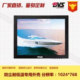 12寸工业级医疗设备高分辨率1024*768四线电阻式触摸工控监视器可订制批发
