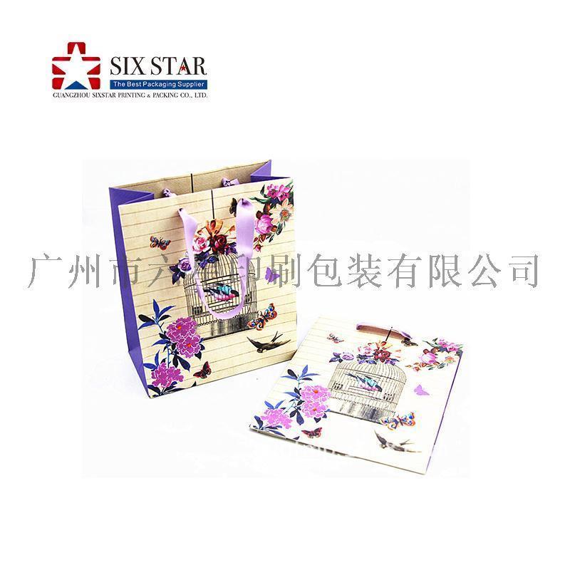 熱銷定製手挽袋紙袋禮品袋廣州印刷廠
