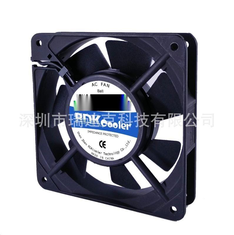 風扇廠家AC12025散熱風扇 含油散熱風扇110V