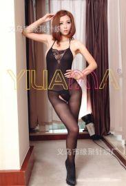 情趣丝袜批发YILIANNA新款时尚性感内衣蕾丝花边连身丝袜连体内衣