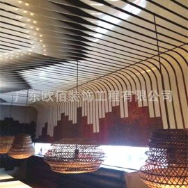 顺德铝单板幕墙双曲铝单板 定制氟碳扭曲造型铝单板