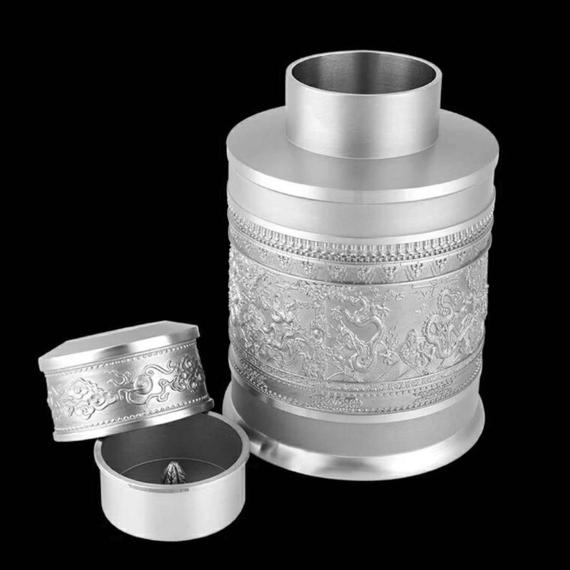 泰國錫器 九龍磨砂錫罐 實用 商務 公務 禮儀茶罐佳品