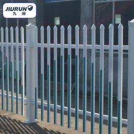 Pvc塑钢防护围栏 小区变压器护栏 园艺社区栏杆