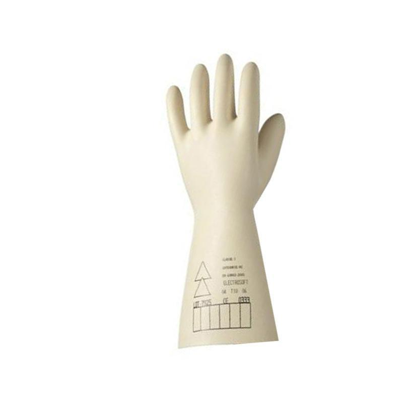 霍尼韦尔(Honeywell)天然乳胶电工绝缘手套 米色 2091921