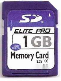 中性SD 1G闪存卡