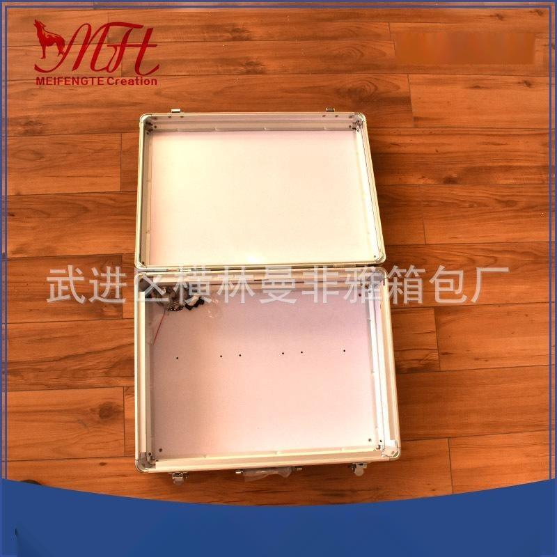 厂家供应精美工具铝合金仪器箱 防潮防划质优仪器仪表工具箱