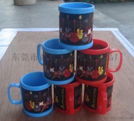 定制pvc軟膠馬克杯 塑膠馬克杯 硅膠馬克杯