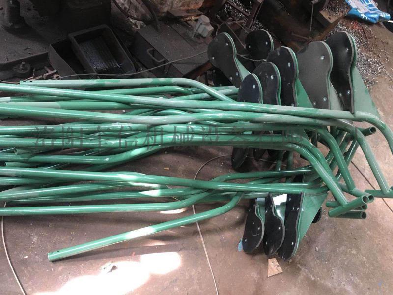 礦用猴車索道用吊椅  帶橡膠膠墊 礦工專用
