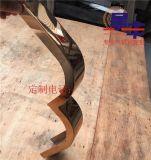 不鏽鋼裝飾線條 金屬線條 吊頂圓形弧形異形玫瑰金