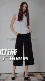 CSG大码女装折扣库存尾货走份哪里找 广州明浩服饰