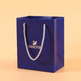 专业定制白卡纸袋服装手提购物袋创意礼品袋印logo
