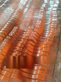 D2三孔管夹 D6管夹横担 重型轻型系列管夹