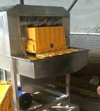 不锈钢馄饨塑料箱洗箱机 大型商用食品盘子篮子清洗机