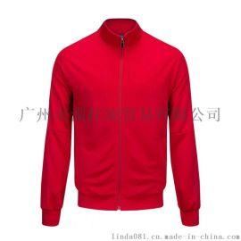 立领夹克开衫休闲跑步运动装外套加绒男009