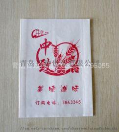 青岛市北防油纸袋加工厂腊汁肉夹馍牛皮纸山东供应厂家