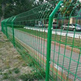 护栏网 浸塑山东护栏网 双边丝护栏网厂