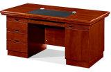 1413款1.4米油漆辦公桌 胡桃木皮綠色環保傢俱