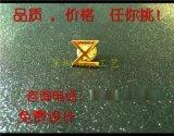 保险公司司徽定制,镀金镂空徽章制作,深圳定制胸章厂