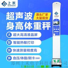 電子健康秤智慧超聲波身高體重測量儀SH-500A
