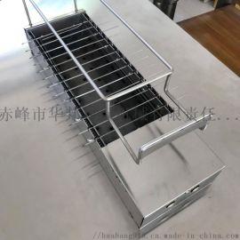360度自動燒烤爐 赤峯無煙環保自動燒烤爐
