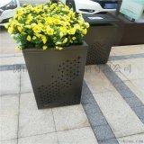 不鏽鋼花箱不鏽鋼花盆定製加工廠家