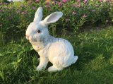 泰州仿真動物兔子擺件價格 南京戶外園林雕刻廠家