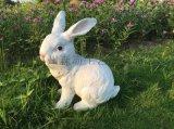 泰州模擬動物兔子擺件價格 南京戶外園林雕刻廠家