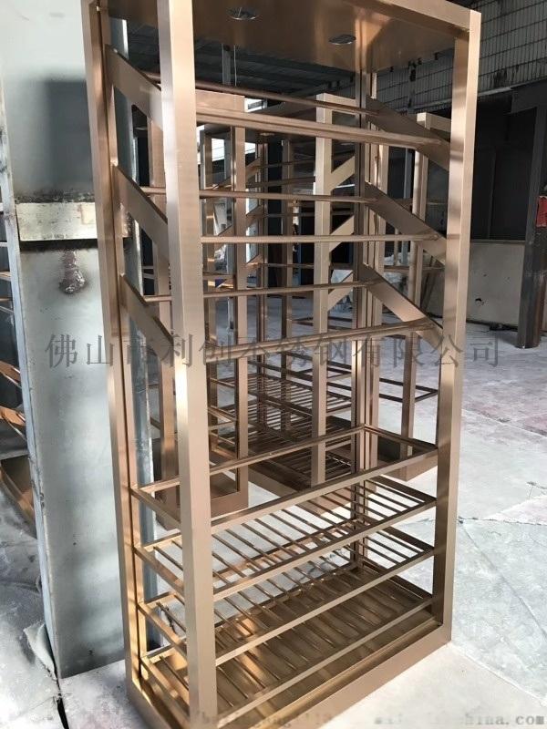 紅酒白酒恆溫酒櫃定製 不鏽鋼酒架